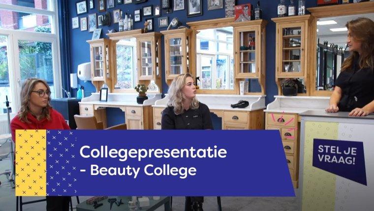 YouTube video - Collegevoorlichting Beauty College